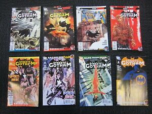 Batman-Streets-of-Gotham-2009-1-to-21-complete-NM-hush-money