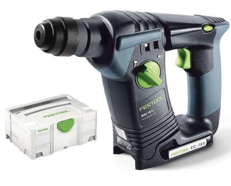 Festool BHC 18 Li-Basic Akku Bohrhammer 574723 18V SDS im Systainer ohne Akku