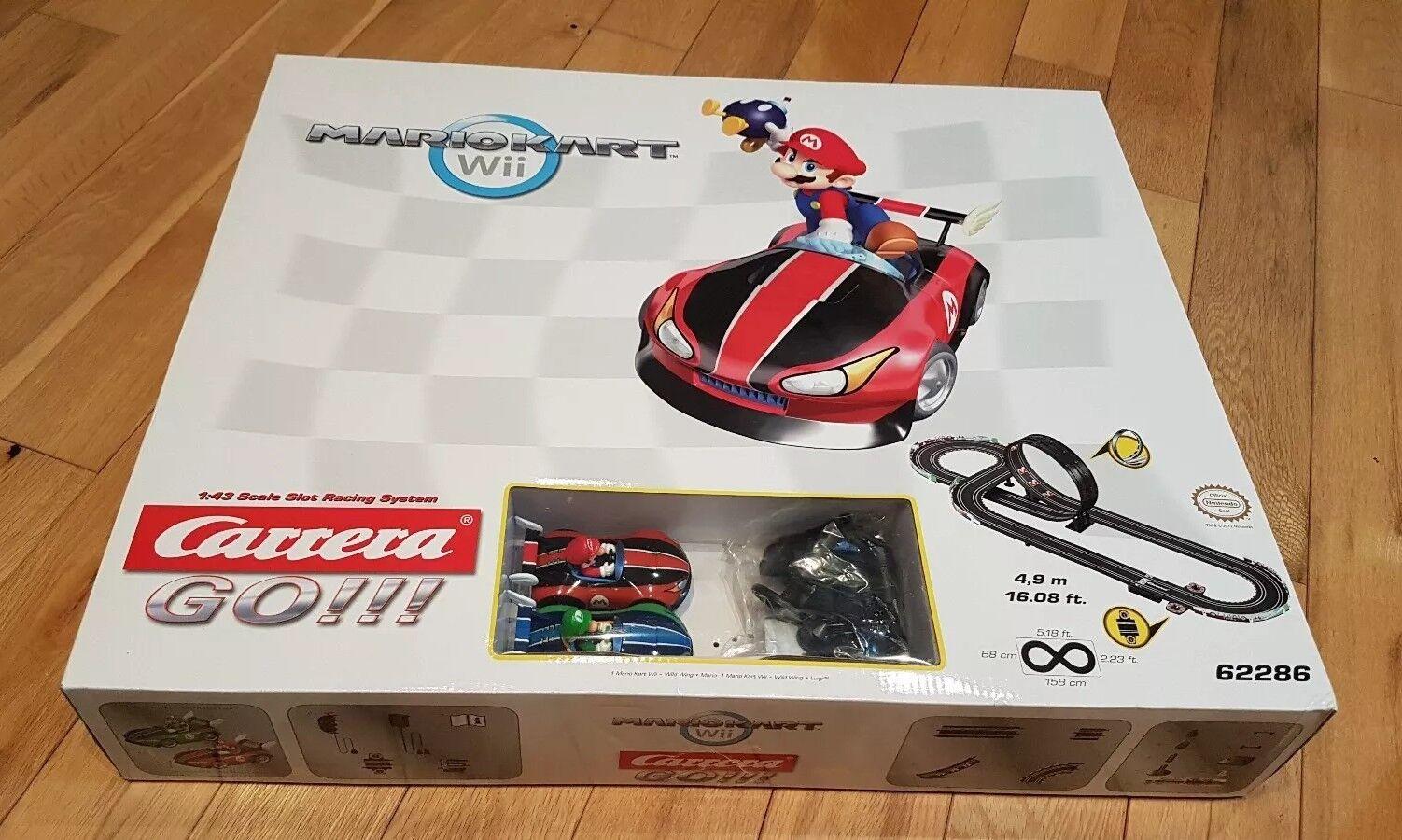 Carrera GO    MARIO KART Wii slot system Scalextric. Wild wing Mario & Luigi