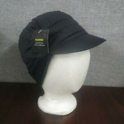 Champion C9 Ladies Quilted winter Hat Water resistant ear covering New Black