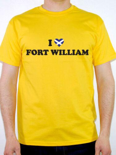 Me encanta Fort William-Escocia Gran Bretaña escocés divertida temática para hombre de Superdry