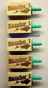 Fish & Aquariums Pet Supplies Sander Lindenholzausströmer Größe 1 Air Pump For Piccolo 5 Package 1,84 €/ St