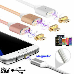 US-Magnetic-Braided-USB-Charger-Charging-Data-Cable-Cord-Android-Mobile-Phone