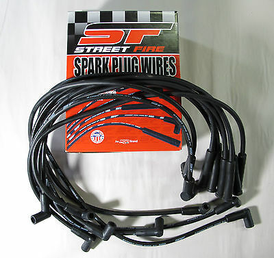 Socket//HEI 8mm MSD 5551 plug wires-Street Fire Multi-Angle style plug wires