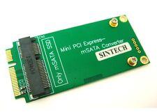 SINTECH 3x5cm mSATA adapter as 3x7cm mini PCI-e SATA SSD 4 ASUS EeePC 901/900A