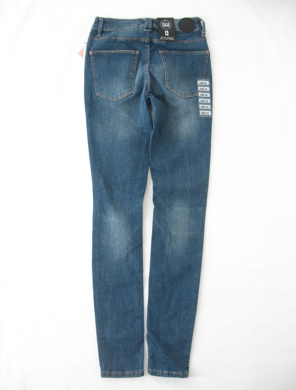 Res Denim Kitty Sdrucito Skinny Skinny Skinny Jeans in Libertà Splatter 25 9550 Bm12 06a20b
