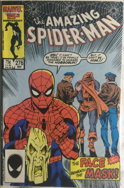 The Amazing Spider-Man #276 (May 1986, Marvel) Near Mint, White Pages