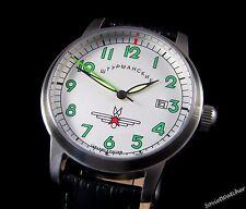 Poljot Shturmanskie Gagarin mens wrist watch Custom USSR RARE Serviced & oiled