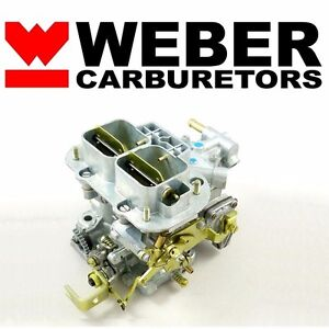 32 36 dgv progressive carb genuine weber carburetor w manual choke rh ebay com weber tuning manual pdf weber carbs manual