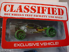 2013 Multi Design Excl TEAM HOT WHEELS BUGGY☆ Zamac☆ LOOSE☆ Target Test Facility