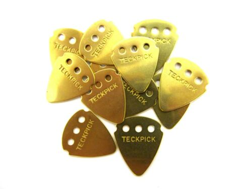 Tech Pick Dunlop Guitar Picks  Techpick Aluminum  Metal   Brass