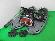 Yukon Charlie's Winter Systems 6000 Series 825 8x25 Snow Shoes + Poles Snowshoes