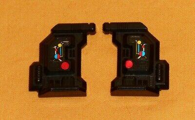 Vtg Transformers G1 1986 Hot Spot DEFENSOR RIGHT BLAST SHIELD armor weapon part
