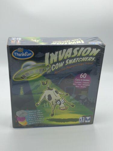 NEU ThinkFun Familienspiel Logikspiel Invasion of the Cow Snatchers™ 76374