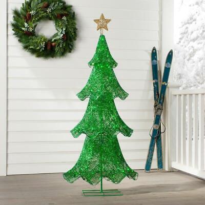 Crystal Splendor Outdoor Christmas Tree