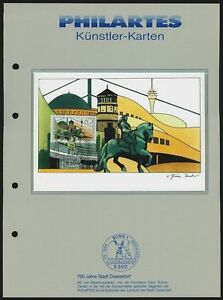 PHILARTES-KUNSTLER-KARTE-01-DUSSELDORF-MAXIMUMKARTE-MAXI-CARD-MK-MC-CM
