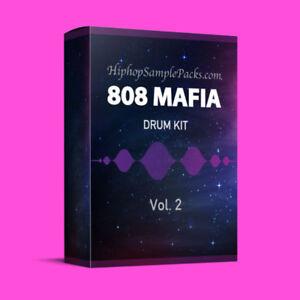 Details about 808 Mafia DRUM KIT Vol  2 Hip Hop SAMPLE PACK TRAP 808 Wav FL  Studio ⭐️⭐️⭐️⭐⭐️