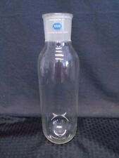 Roche Glass Vacuum Trap Cylindrical Flask 5550 Outer Jt Round Bottom 280 X 98mm