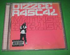 DIZZEE RASCAL CD MATHS + ENGLISH 2007 VERY GOOD XLCD273