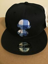 New Era Cap 59Fifty Kidrobot Splatter Dunny Fitted Hat Navy Size 7 1/2 59.6 cm