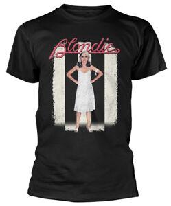 Blondie-039-lineas-paralelas-039-s-T-Shirt-Nuevo-Y-Oficial