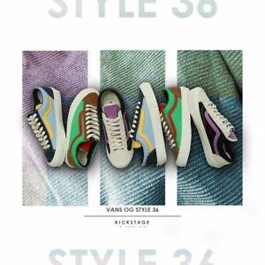 Details zu Vans Vault OG Style 36 LX Old Skool Suede Corduroy Canvas Skateboarding Shoes
