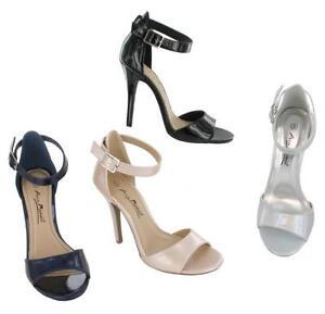 Donna Anne Michelle open toe sandali con cinturino alla caviglia 11.4Cm tacco
