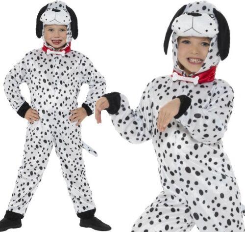 Kinder Dalmatiner Mädchen Kostüm Jungen Unisex Outfit von Smiffys Neu