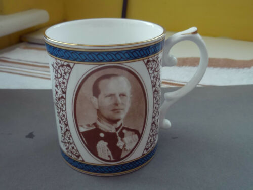 1981 MUG FOR THE 60th BIRTHDAY OF THE DUKE OF EDINBURGH BY CAVERSWALL CHINA