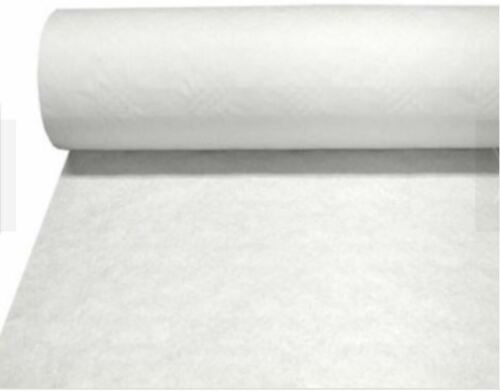 TABEL COVER//MULLTI USED PAPER ROLL WHITE//RED BANQUETING ROLL 100M 25M PARTY