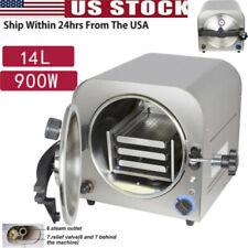14l Dental Lab Autoclave Sterilizer Steam Medical Sterilization Automatically A