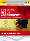 Skilled Trainer: Assessing Training Needs by Barbazette (Paperback, 2005)