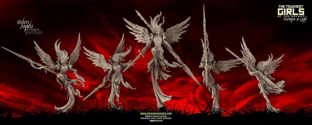 10 Angels TGG2 - Raging Heroes  - nouveau   Neuf - Adepta Sorritas  80% de réduction