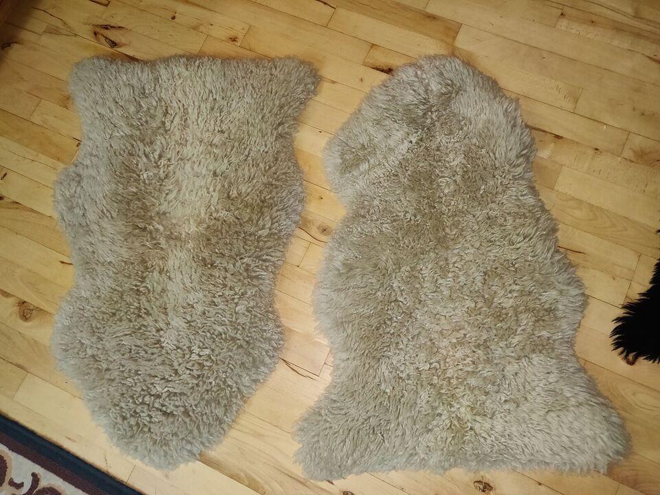 Gulvtæppe, ægte tæppe, Lam uld