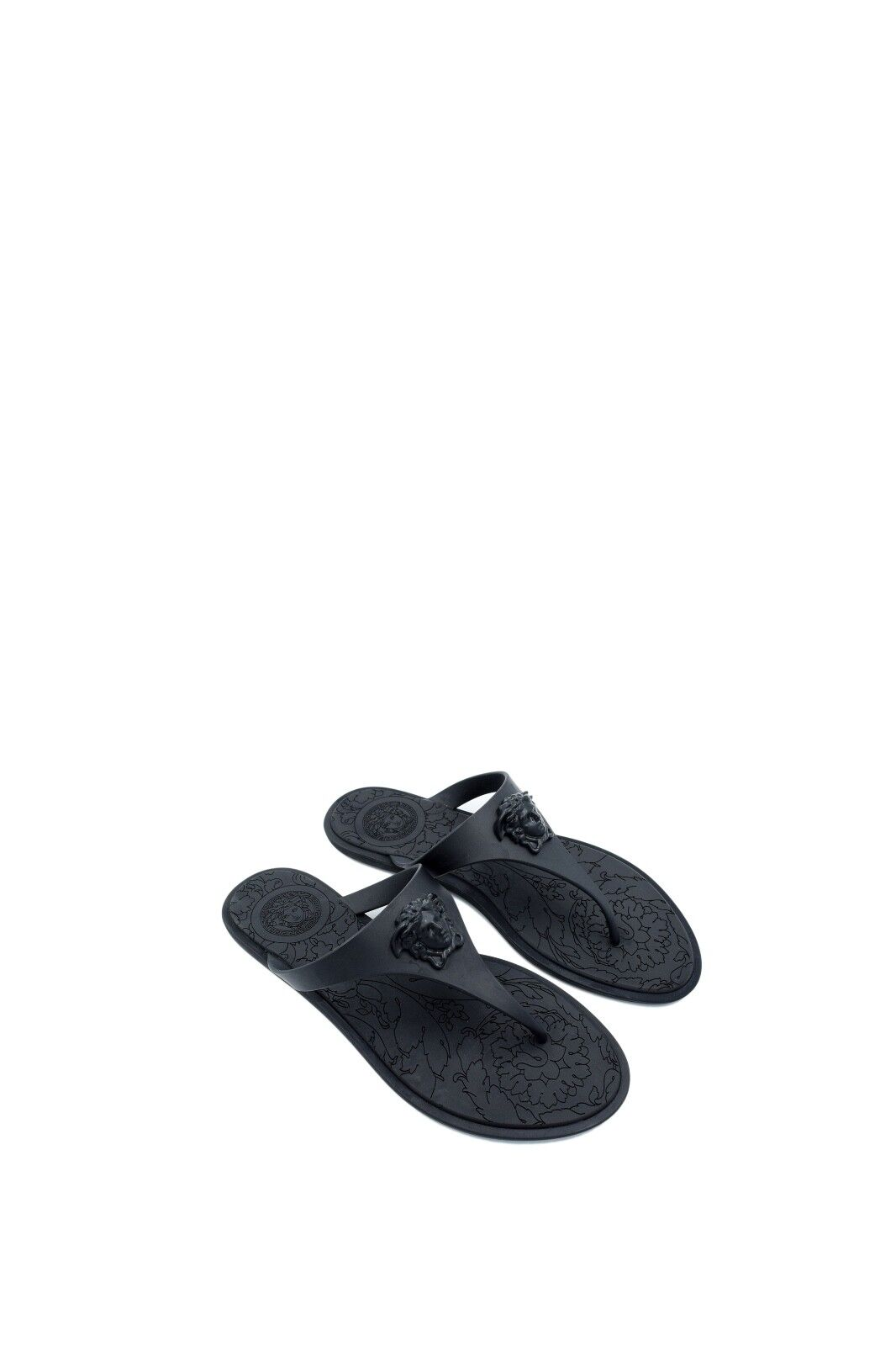Mr/Ms Versace Medusa Palazzo Thong Sandals Innovative design real Strong heat and heat resistance