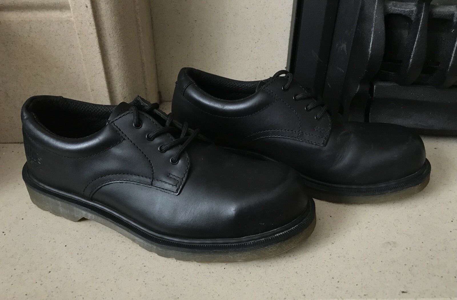 Dr Martens Industrial Men's Größe Steel Toe Cap Schuhes Größe Men's 8 348f98