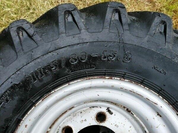 Andet, - - - Komplette BKT hjul 11.5/80-15.3
