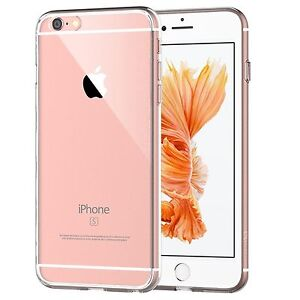 JETech Shock Absorption Bumper Crystal Clear Case for Apple iPhone 6 6s