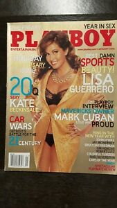 Vintage-January-2006-Playboy-issue-featuring-ESPN-039-S-Own-Lisa-Guerrero-VG-NM