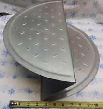 The Pizza Butler 18 Space Saving Pizza Stand Stackable Stainless Steel