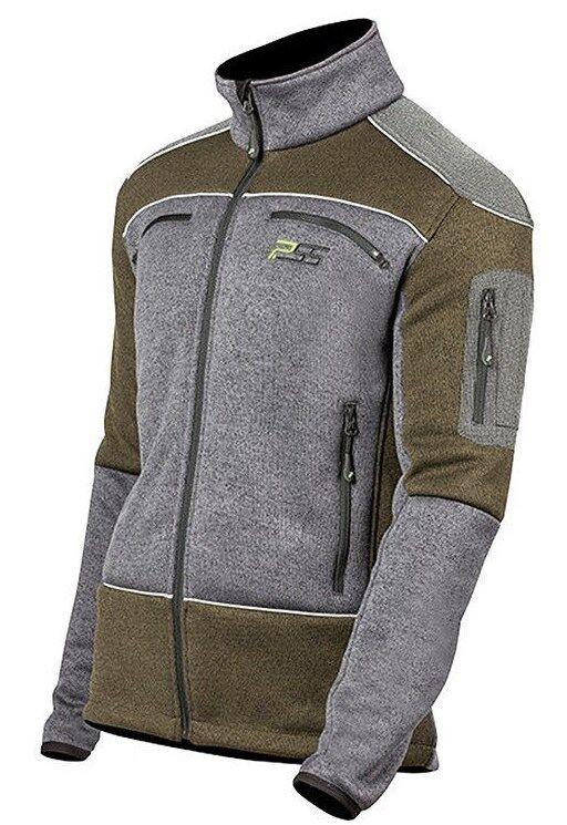 PSS-faserpelzjacke-fibra truco chaqueta  Arctic X-treme-oliva gris  buena reputación