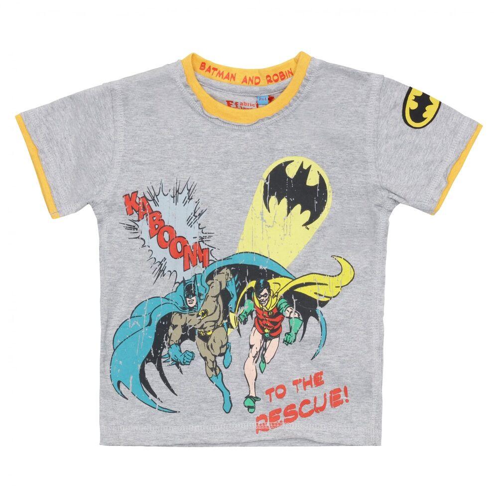2019 Nouveau Style T-shirt Fabric Flavours Kids Batman Raw CéLèBre Pour Des MatéRiaux SéLectionnéS, Des Conceptions Originales, Des Couleurs DéLicieuses Et Une Finition RaffinéE