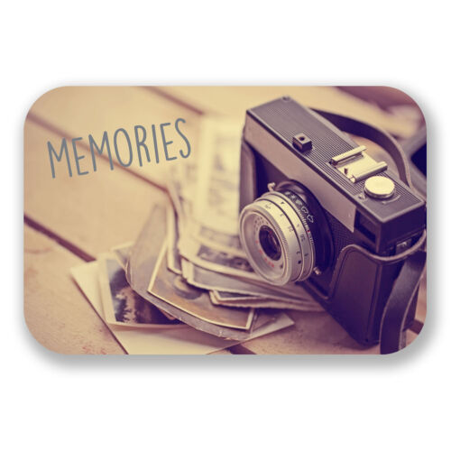 2 x 10cm Memories Vinyl Sticker Decal Photography Photograph Box Album #6599