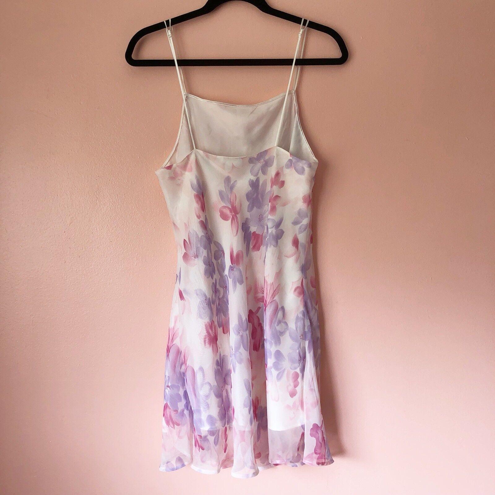 Vintage Floral Slip Dress - image 3