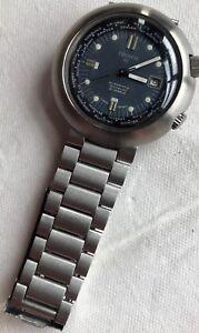 Tissot DL Super Compressor automatic mens wristwatch steel case all original