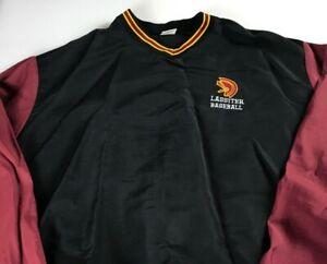 Lassiter-Trojans-Windbreaker-Jacket-VTG-Mens-XL-2XL-Baseball-High-School-USA