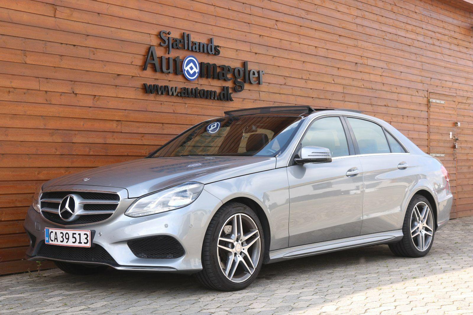 Mercedes E300 3,0 BlueTEC Avantgarde aut. 4d - 400.000 kr.