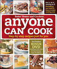 Better Homes and Gardens  Anyone Can Cook: Step-by-step Recipes Just for You by Better Homes & Gardens (Hardback, 2009)