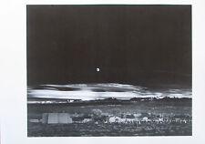 Ansel Adams MOONRISE HERNANDES NEW MEXICO 1944 Druck aus der 70er print