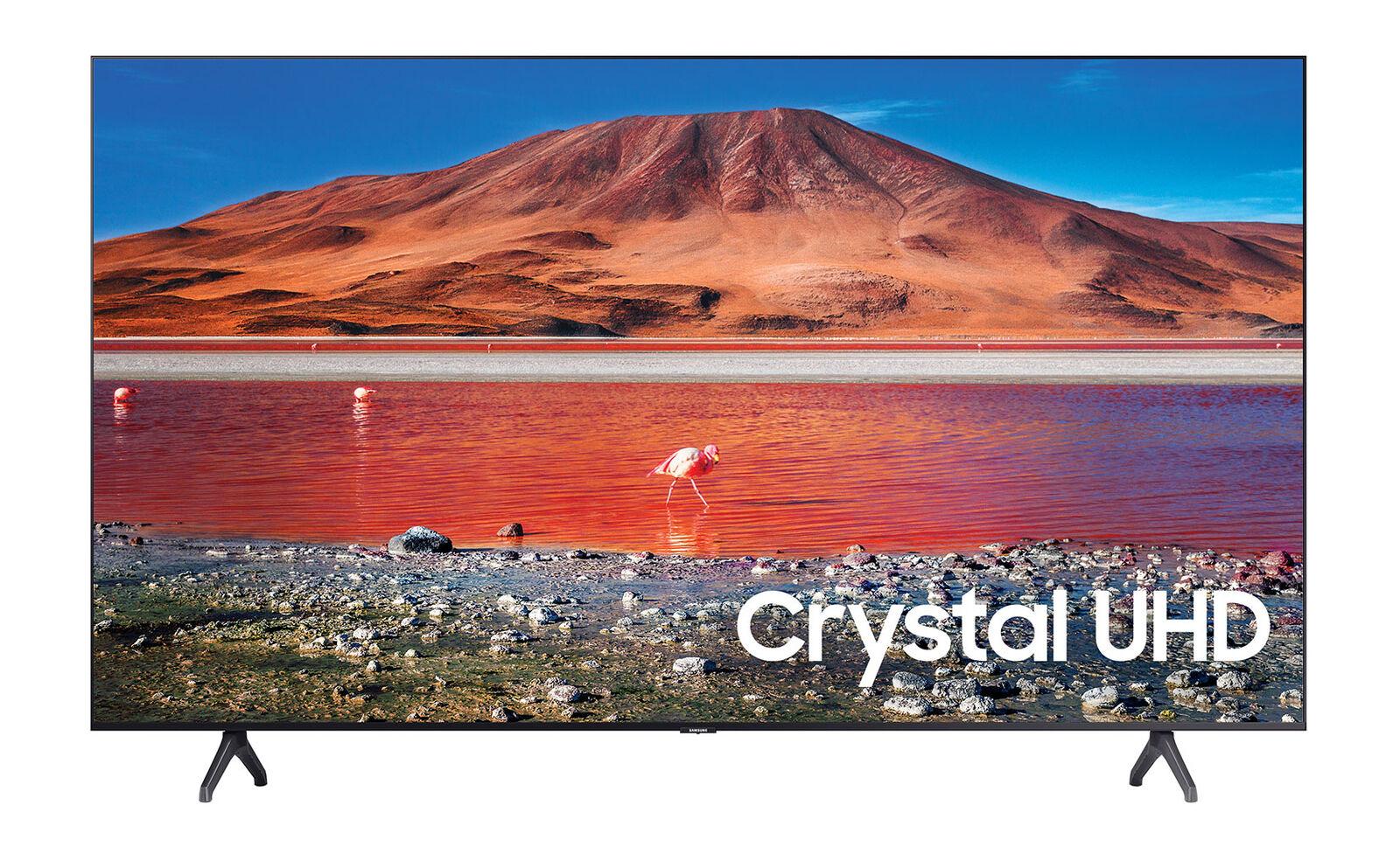 lockerq Samsung UN65TU7000FXZA 65 4K LCD Smart TV - Titan Gray